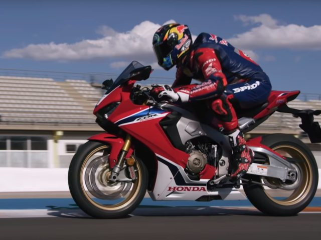 Honda CBR Fireblade 2018