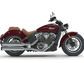 Indian Scout 2018 - Burgundy Metallic