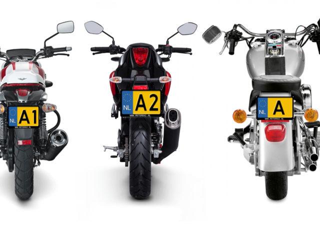 Motorrijbewijs - A1, A2, A1