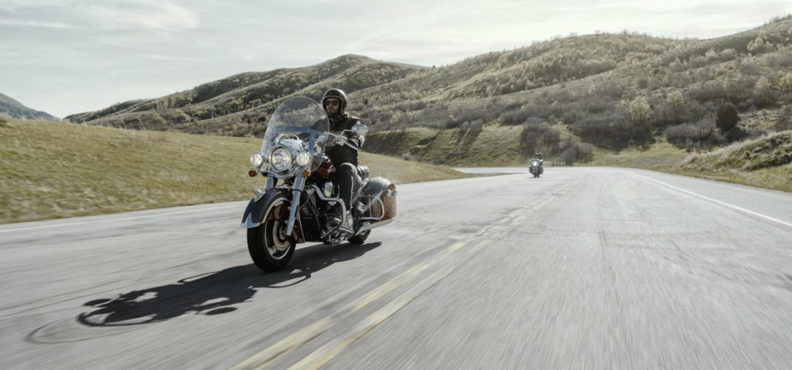 Indian Motorcycle Springfield Steel Grey Smoke Thunder Black 2019