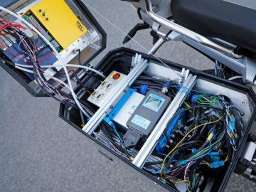 BMW Motorrad R 1200 GS technologie voor autonoom rijden