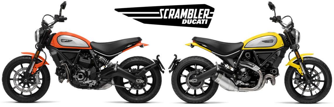 Ducati Scrambler Icon 2019 kleuren