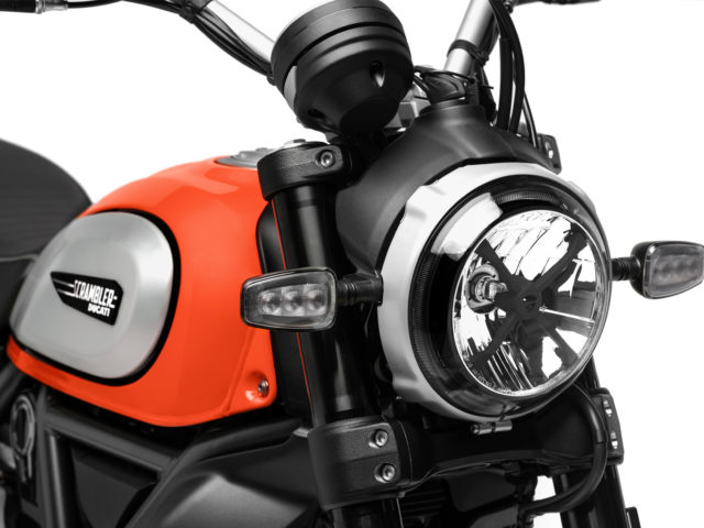 Ducati Scrambler Icon 2019 LED-koplamp