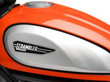 Ducati Scrambler Icon 2019 nieuw logo