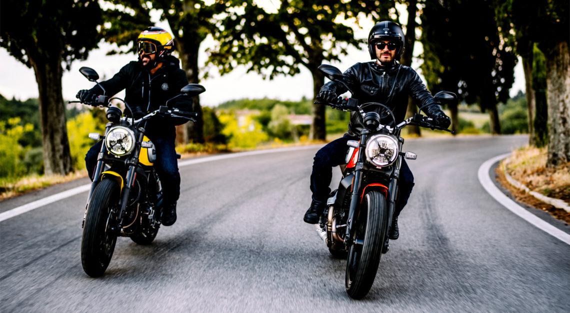 Ducati Scrambler Icon 2019 rijders