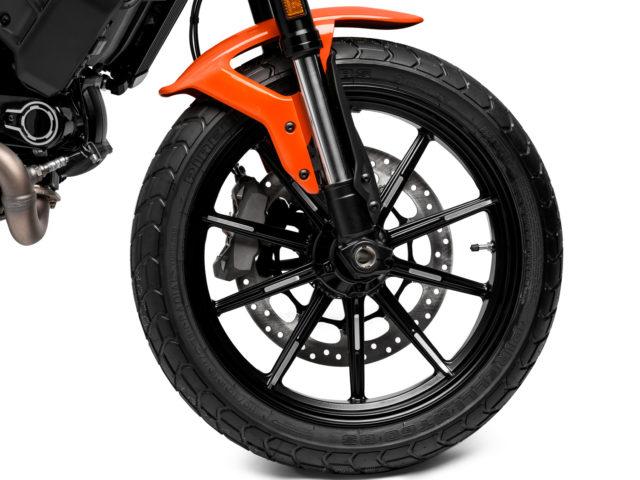 Ducati Scrambler Icon 2019 gietwielen