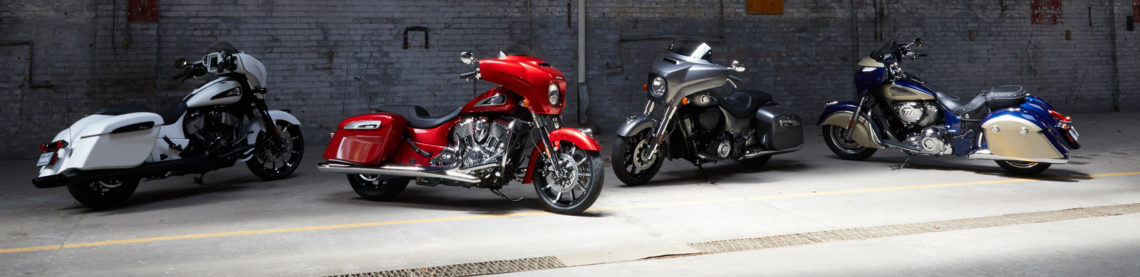 Indian Motorcycle Chieftain 2019 range