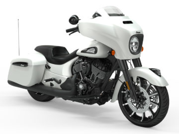 Indian Motorcycle Chieftain 2019 White Smoke