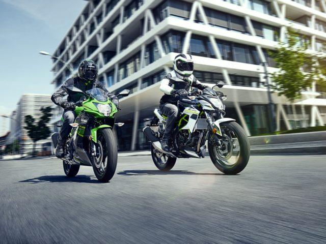 Kawasaki Ninja 125 en Z125 2019