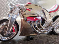 Levis Motorcycles V6 Café Racer