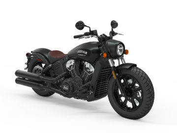 Indian Motorcycle Scout Bobber Thunder Black Smoke 2019