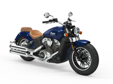 Indian Motorcycle Scout Deep Water Metallic 2019