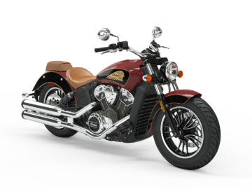 Indian Motorcycle Indian Red - Thunder Black 2019