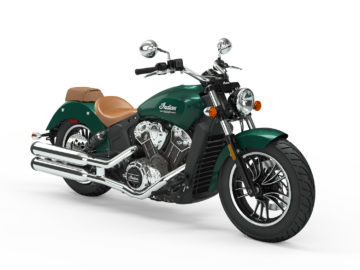 Indian Motorcycle Scout Metallic Jade 2019