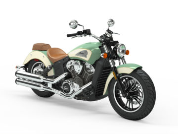 Indian Motorcycle Scout Willow Green - Ivory Cream 2019