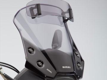 Suzuki V-Strom 650XTA Adventure-Pack scherm