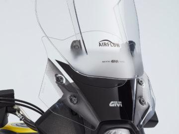 Suzuki V-Strom 650XTA Touring-Pack GIVI Airflow scherm
