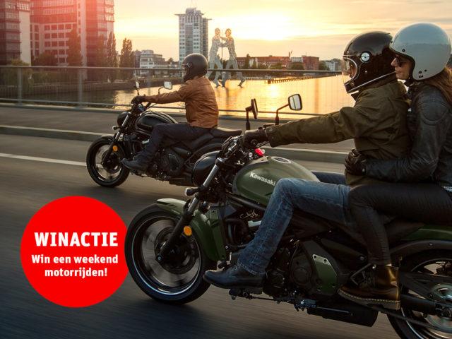 winactie: win een weekend motorrijden!
