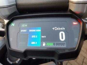 Ducati XDiavel-S Sport-modus