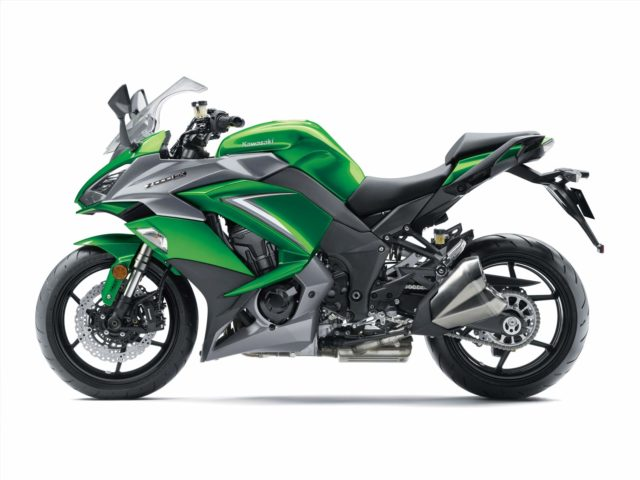 Kawasaki Z1000SX 2019 Emerald Blazed Green