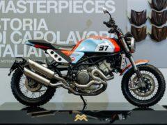 Moto Morini Scrambler 1200 Gulf Edition