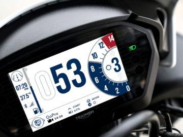 Triumph TFT systeem 2019
