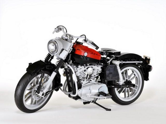 Harley Davidson Sportster XL 1957 Lego Ideas (1)