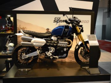 Brussels Motor Show 2019 - Triumph