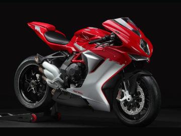 MV Agusta F3 675 Agostini red/Agostini silver