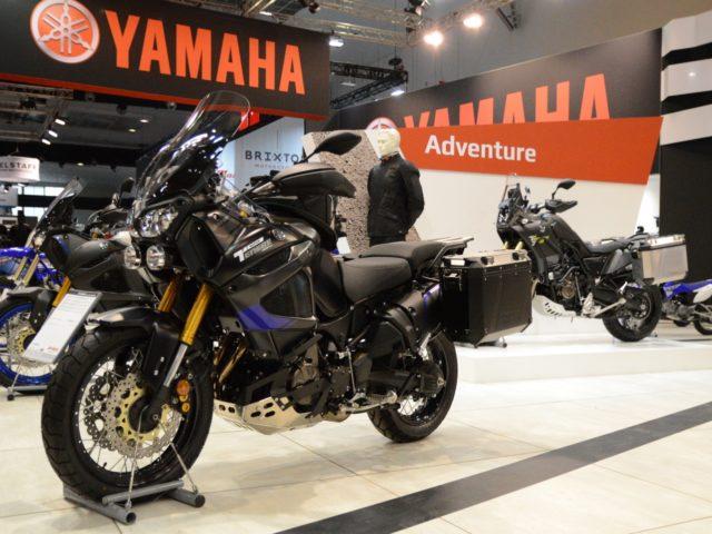Yamaha op de Brussels Motor Show 2019