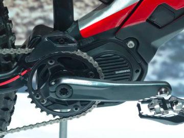 Elektrische Ducati fiets