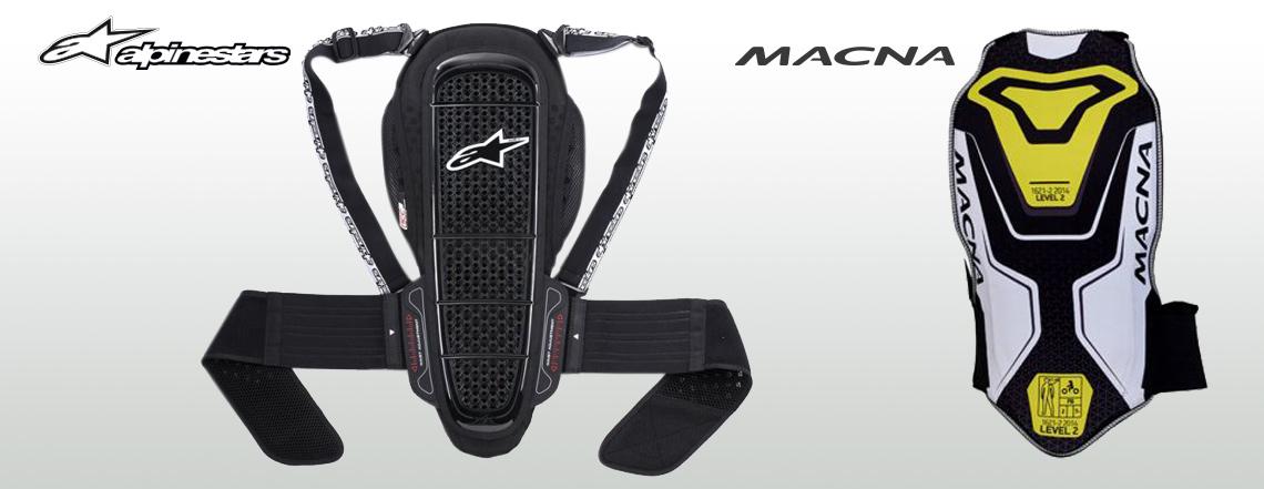 Alpinestars Macna backprotectors