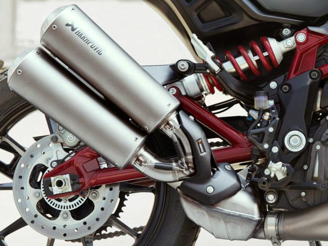 Indian FTR 1200 S Race Replica Akrapovic