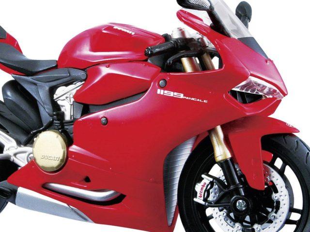 MotorRAI in Miniatuur - Ducati 1199 Panigale - Foto Maisto