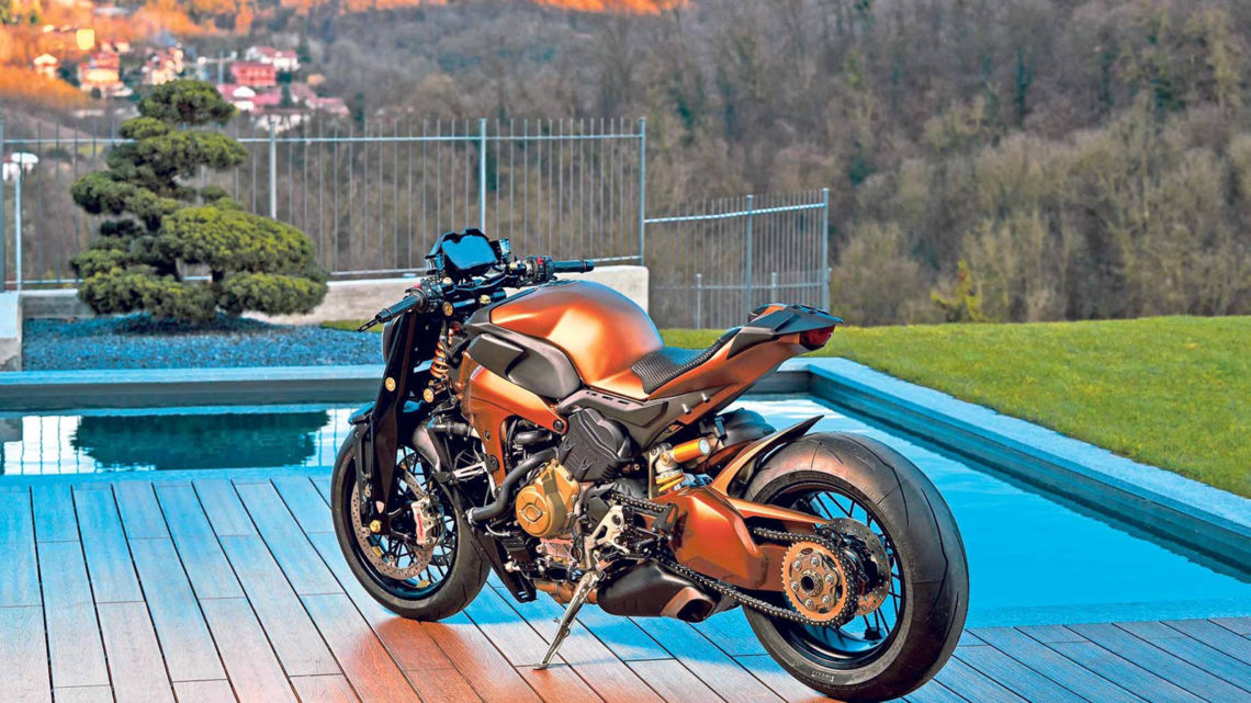 Ducati V4 Streetfighter by Officine GP Design