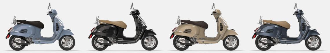 Vespa GTS 300 2019 kleuren