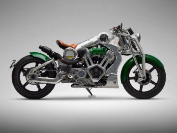 Curtiss Motorcycles Warhawk 2019