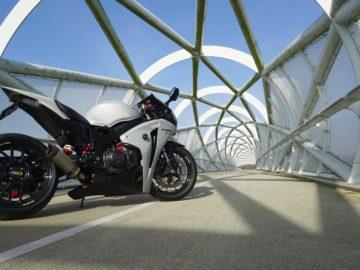 De Honda CBR WTF RR van Stephan Buurveld