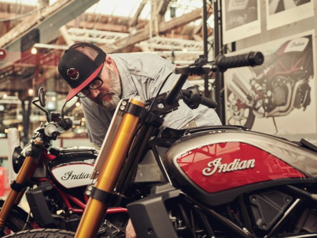 Indian FTR1200H Hooligan racer 2019