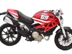 MotorRAI in Miniatuur Ducati Monster 796, schaal 1 op 12