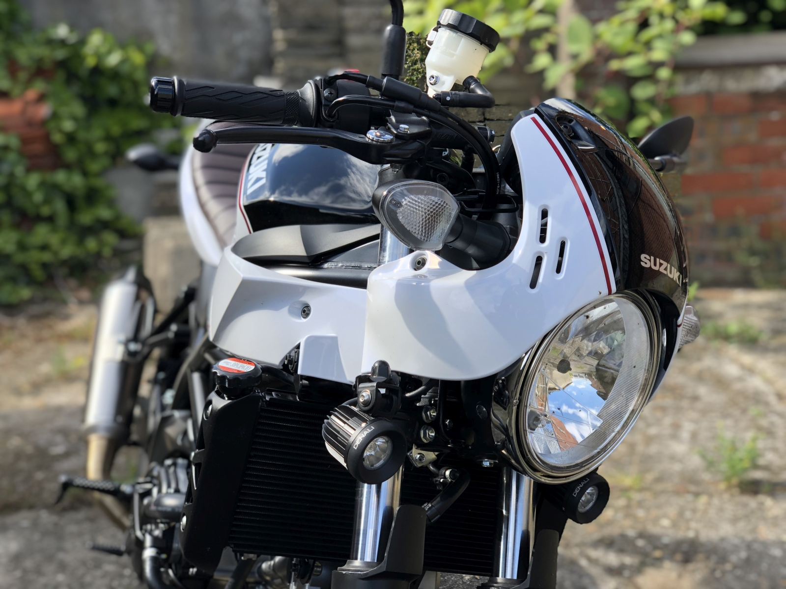 Suzuki SV650X Café Pack 2019 - MotorRAI.nl
