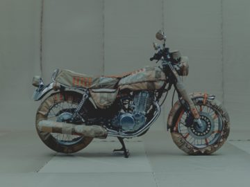 Hideaki Shikama Yamaha SR500 en SR400