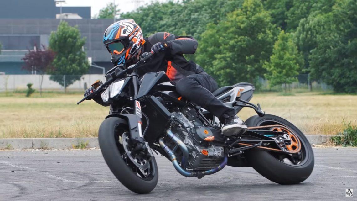 KTM Duke 790 Driften Rok Bagoros