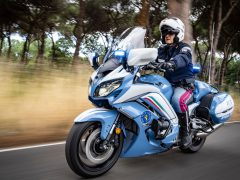 Italiaanse nationale politie kiest voor Yamaha FJR1300AE